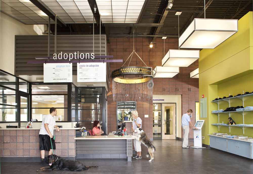 Animal shelters go green animal arts for Architectural design services near me